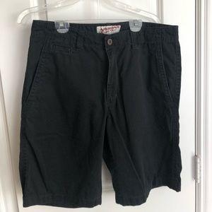 Men's Arizona Jean Company Black Shorts Used 32